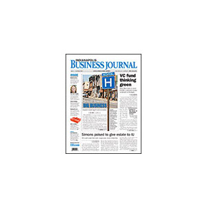 Indianapolis Business Journal - 52 Issues - 1 Year