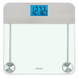 Stainless Steel/Glass Digital Bathroom Scale