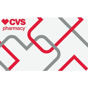 CVS Pharmacy Certificate $50