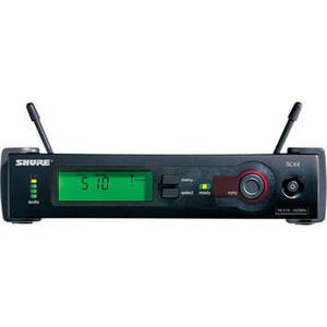 SLX4 Diversity UHF Wireless Microphone Receiver (H5: 518 to 542 MHz)