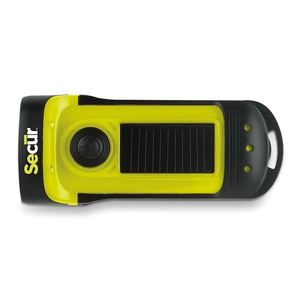 Waterproof Solar/Dynamo Led Flashlight
