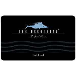 Oceanaire Seafood Room eGift Card $25