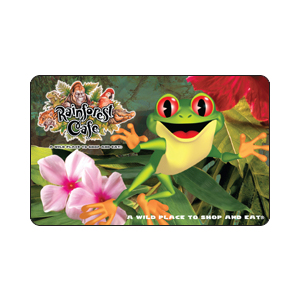 Rainforest Café Gift Card $25