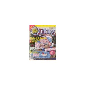 Quilters World - 4 Issues - 1 Year